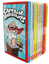 The Adventure of Captain Underpants Children 10 Books Collection Set Dav Pilkey
