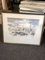 Original Betty Guy Framed & Signed - March 10, 1975- The View From My Window SF