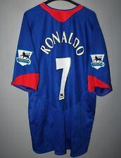 MANCHESTER UNITED 2005 2006 2007 NIKE AWAY FOOTBALL SHIRT JERSEY #7 RONALDO