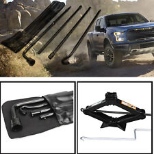 For 2004 2014 Ford F 150 Lug Wrench Scissor Jack Carrier Case Spare Tire Usa