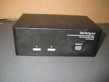 StarTech.com SV231DDVDUA 2-Port DVI VGA Dual Monitor KVM Switch Audio +USB leads