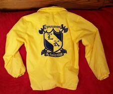 Vtg. Kiwanis International Yellow Jacket  Lynwwod Washington Men's M Patches USA