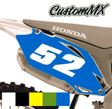Honda CR/CRF MOTOCROSS BACKGROUNDS 85 150 125 250 450 500