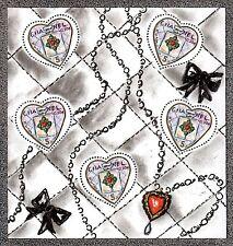 2004 FRANCE BLOC N°66** BF Saint Valentin Coeurs CHANEL Karl Lagerfeld, SHEET