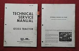 OLIVER MINNEAPOLIS MOLINE WFE G1355 TRACTOR SERVICE MANUAL VERY GOOD SHAPE