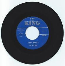BLUES 45 ROY MILTON JEEPS BLUES ON KING STRONG VG  ORIGINAL