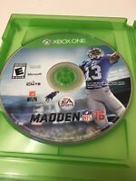 Madden NFL 16 (Microsoft Xbox One, 2015)