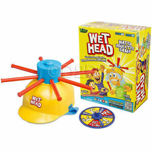 Wet Head Water Roulette Game KIDS Friends Family TOY PLAY SET