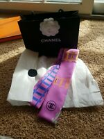 Authentic Chanel twilly bandeau Scarf Rare!