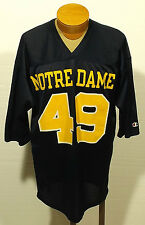 vintage NOTRE DAME replica football jersey #49 CHAMPION Fighting Irish LARGE