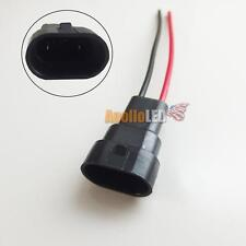 2x 9005 9006 Headlights Fog Light Male Replace Adapter Wiring Harness Nylon Plug