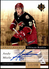 2011-12 Ultimate Collection #142 Andy Miele Auto Rookie #/299 (ref 3086)