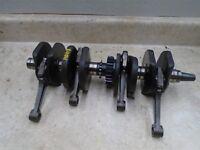 Honda 550 CB SUPERSPORT CB550F CB550-F Engine Crankshaft Rods 1975 WD HB413