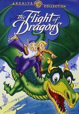 THE FLIGHT OF DRAGONS (1982 Animazione) DVD - UK compatibile - NUOVO E SIGILLATO