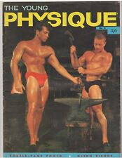 THE YOUNG PHYSIQUE bodybuilding muscle magazine/JEAN-CHARLES ST. MARS 12-59 G.B.