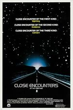vintage movie poster Close Encounters Of The Third Kind sci-fi hit 24X36
