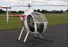 Revolution Mini-500 Light Helicopter Desktop Wood Model Small New