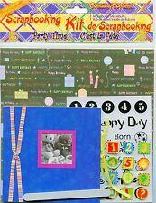 Scrapbooking Kit 8 x 8 Plus Embellishments 20 pieces PARTY Theme New In Pkg