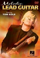 Melodic Lead Guitar Instructional Guitar  DVD NEW 000320664