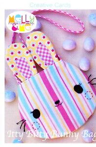 PATTERN - Itty Bitty Bunny Bag - fun childs bag mini PATTERN - Creative Card