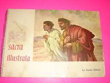 Album  figurine STORIA SACRA ILLUSTRATA Editrice  La Scuola 1958 COMPLETO
