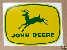 JOHN DEERE 4-leg, Green Deer DECAL, 4 inch, Tractor Computer Cut Free Ship J1979