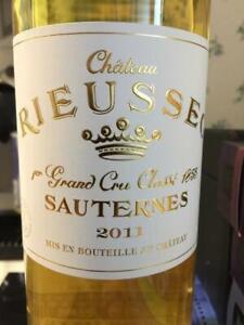 1 Btle Chateau RIEUSSEC, Sauternes 2011