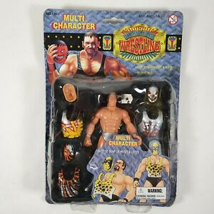 International Wrestling Multi Character Hinstar 2000 Bootleg Action Figure KO