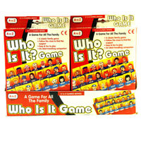 A to Z Who Is It? Traditional Mini Childrens Travel Car Holiday Family Game Toy