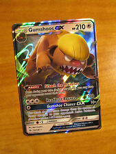 EX Pokemon GUMSHOOS GX Card SUN and MOON Base Set 110/149 SM Ultra Rare HP210