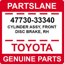 47730-33340 Toyota OEM Genuine CYLINDER ASSY, FRONT DISC BRAKE, RH