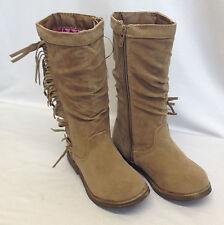 Joblot 12x Girls Mid Calf Slouch Primark Winter Brown Boots Job Lot 6-12 Sizes