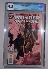 Wonder Woman #166 (CGC 9.8) Adam Hughes cover!   Harley Quinn, Batman Appearance