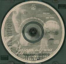 Jefferson In Paris: Original Film Soundtrack PROMO Music CD 2 track movie songs!