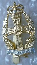Staybrite Queen Alexandra's Royal Army Nursing Corps Badge QC AA maker JR GAUNT