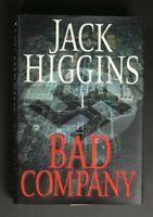 💎Bad Company by Jack Higgins (2003, Hardcover) 1ST PRINT 💎
