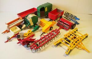 Britain's 1:32 Farm Trailers and Implements - used, for spares or restoration