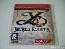 "Sony PSP / Ys The Ark of Napishtim / Version Promo ""Not For Resale"""