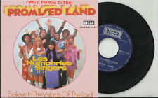 LES HUMPHRIES pic sleeve 45 PROMISED LAND Believe In The Words Belgium