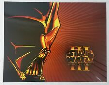 Darth Vader Star Wars Revenge of the Sith Print limited edition Lithograph