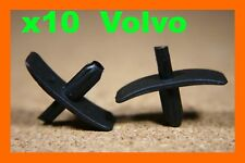 10 Volvo Bonnet Radiateur Isolation Fastener Seal Clips