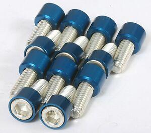 Intake Manifold Bolts: SBC,AMC,Mopar,and all Pontiac,V8: Blue