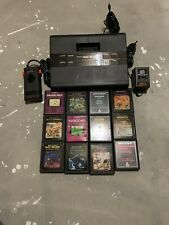 Sears Video Arcade II System With 12 Atari 2600 Games Working