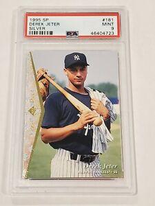 🔥 1995 SP Silver #181 Derek Jeter New York Yankees RC Rookie HOF PSA 9 MINT