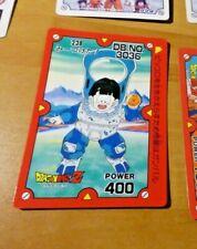 DRAGON BALL Z DBZ PP AMADA PART CARDDASS CARD CARTE 238 MADE IN JAPAN **