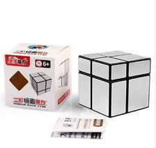 Shengshou 2x2 Mirror Speed Rubik's Cube - SILVER