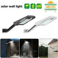 36/48/60LED Solar PIR Motion Sensor Light Outdoor Garden Wall Lamp Security Yard