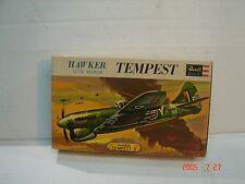 Vintage 1/72 Revell Hawker Tempest (H-620-49)
