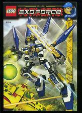 LEGO -- 8103 -  Nur Bauanleitung -- EXOFORCE --