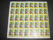 Nicaragua 1980 Revolution Anniversary 5cor Flags Used Full Sheet #S377